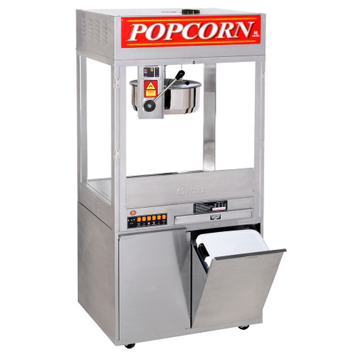32 oz. Mach 5 Counter Model Popper -  50AMP recommended for new construction - shown on optional  base not included