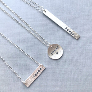 """You are Loved"" Necklace"