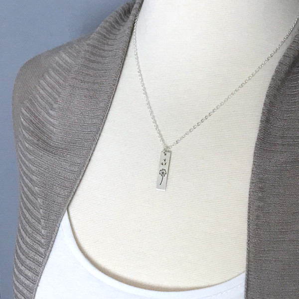 Dandelion Wish Necklace - Make a Wish