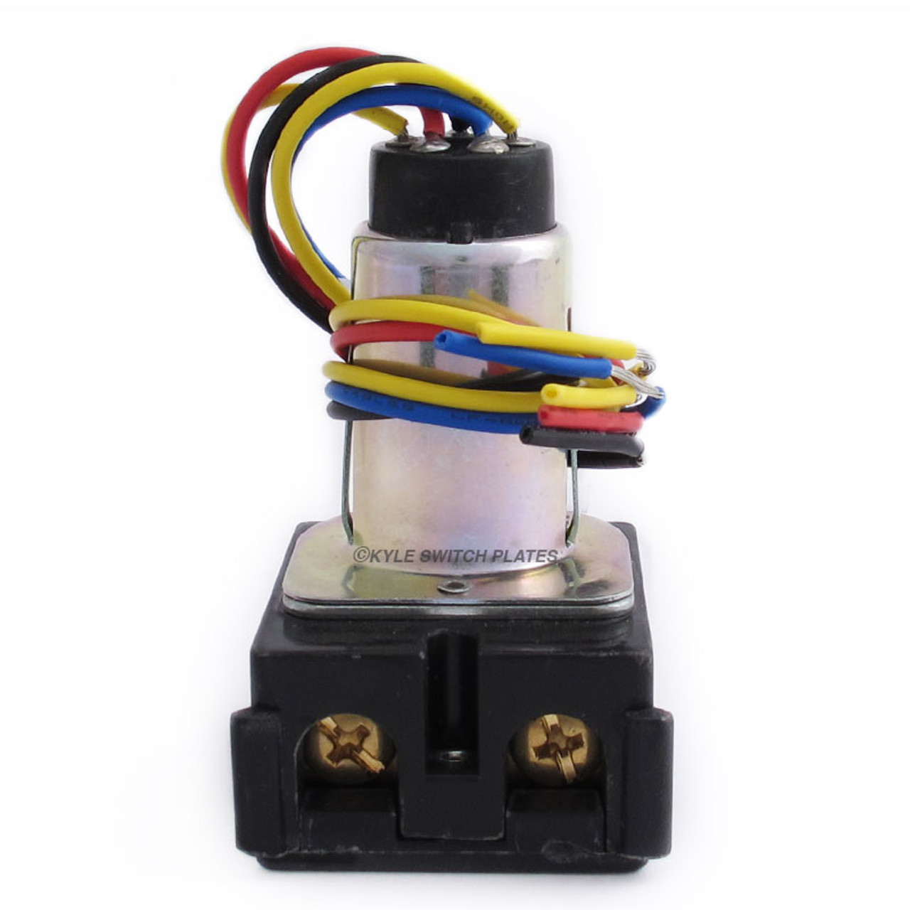 GE RR9 Low Voltage Pilot Light Remote Control Relay Switch RR9BPB | Ge Relay Wiring Diagram |  | Kyle Switch Plates