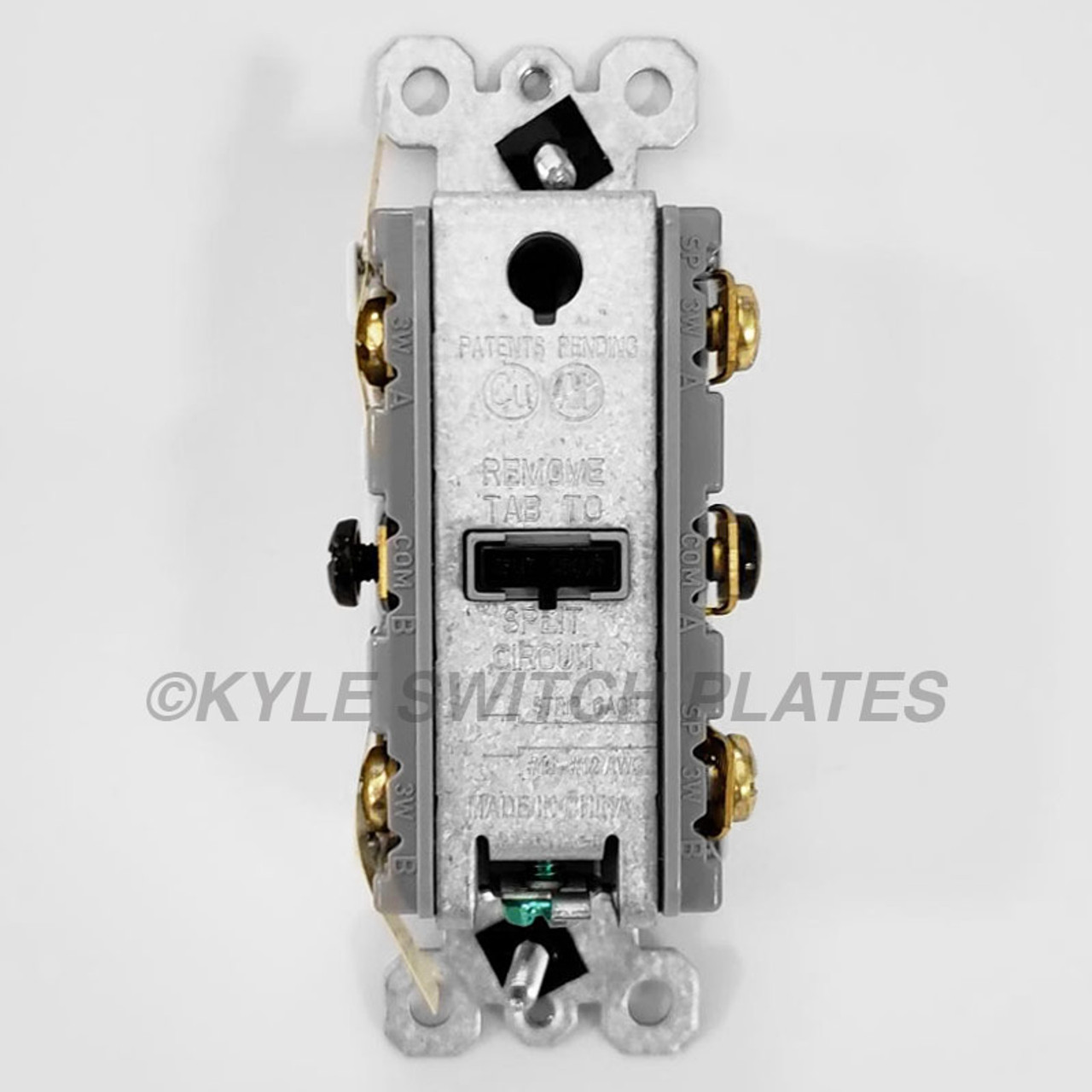 Single-pole Or 3-way Double Rocker Switches