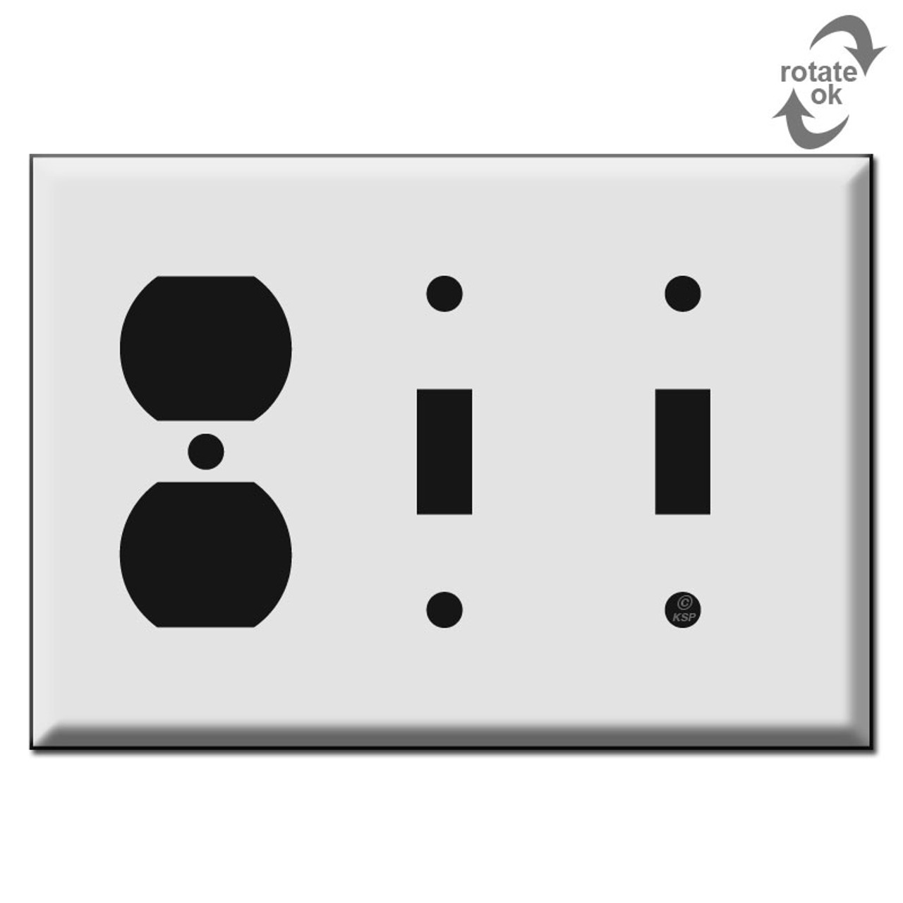2 Toggle 1 Duplex Switch Plate Kyle Switch Plates