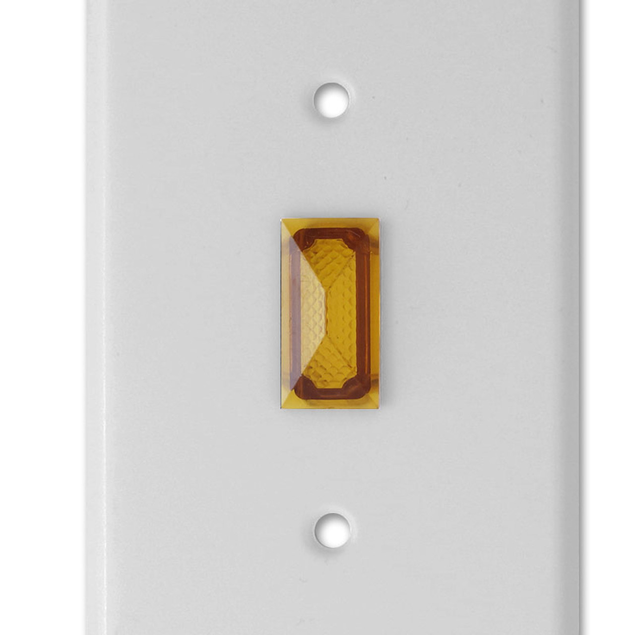 Amber Image Switch Cover Night Light Home Decor Double Light Cabinet knob