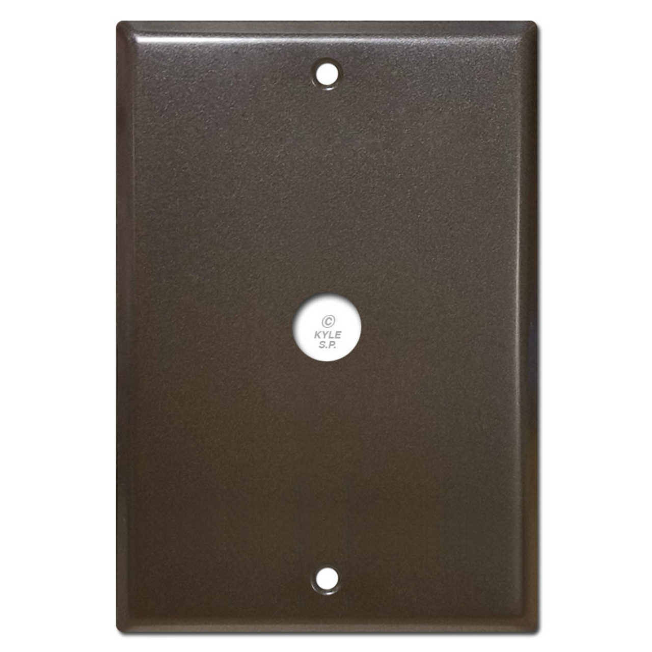 Picture of: 6 4 Nutone Wall Box Cover With Door Bell Hole 5 25 Screws