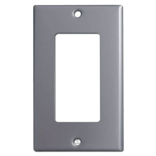 1 Rocker Light Switch Cover - Gray