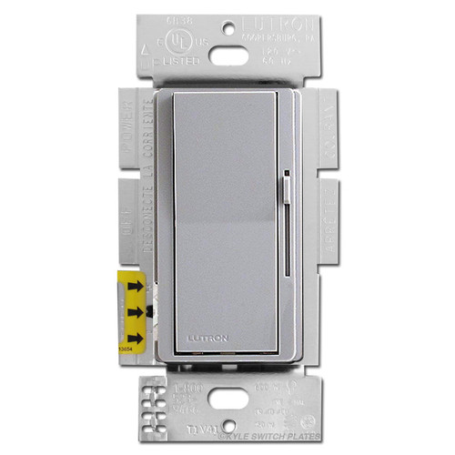 Gray Rocker Switch for Dimming LED / CFL Light Bulbs