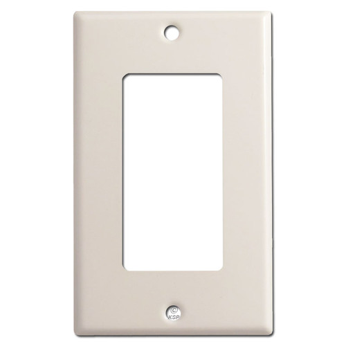 1 Rocker Wall Plates - Light Almond