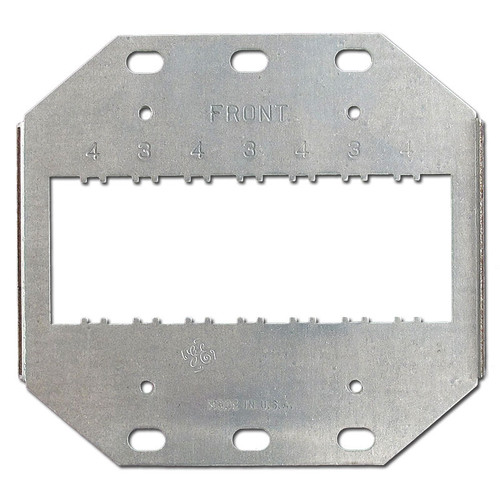 Mounting Bracket holds 3 to 4 New GE Low Voltage Light Switches