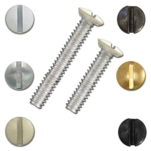 Long Screws for Switch Plates - 6 Pack