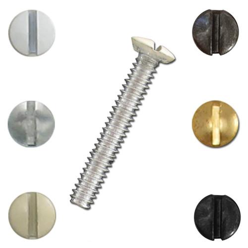 1.5'' Long Screws for Light Switch Plates, Buy Bulk