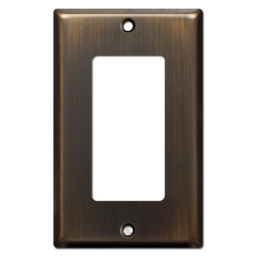 1 Decora Switch Wall Plate - Oil Rubbed Bronze