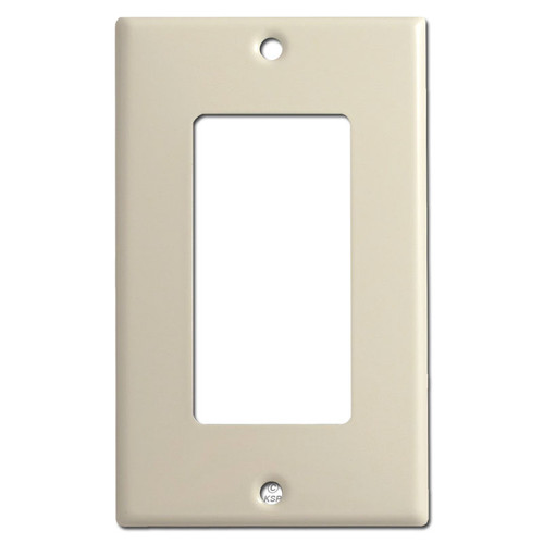 1 Rocker GFCI Switch Plates - Ivory