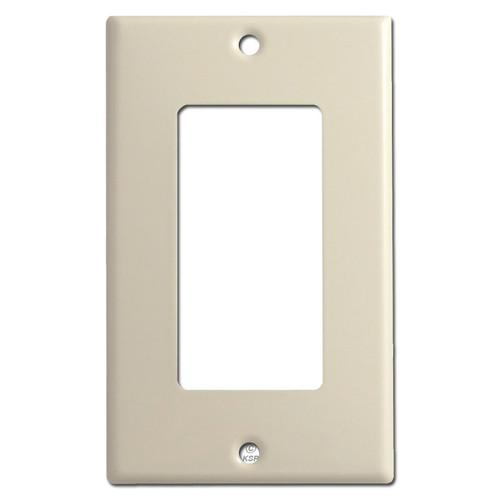 1 Rocker GFCI Switch Plates - Ivory