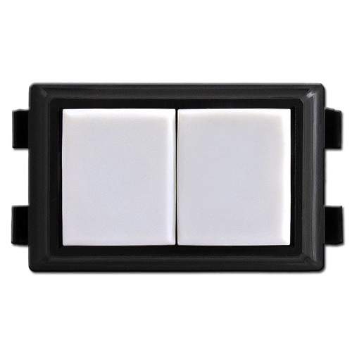 White GE RS237 Low Voltage Light Switch