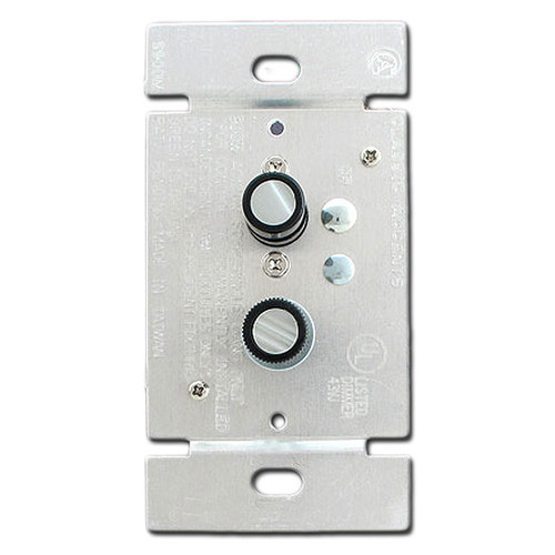 Single Pole 300W Push Button Dimmer Switch