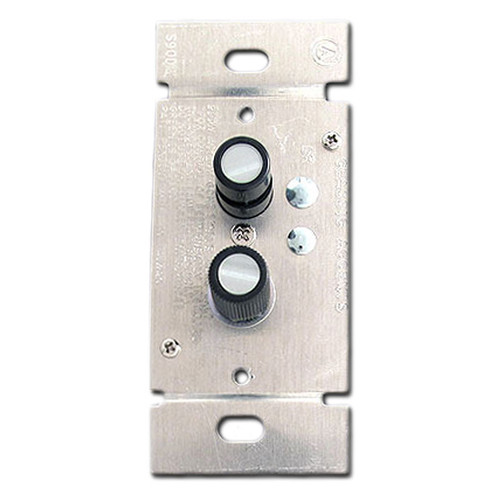 Narrow Push Button Dimmer Switches - Trimmed Single Pole 300W