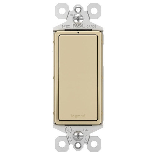 Ivory Lighted 15A Rocker Switches