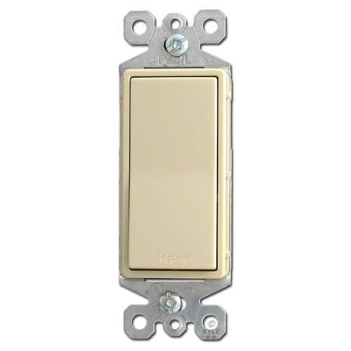 Ivory 3 Way Rocker Light Switch