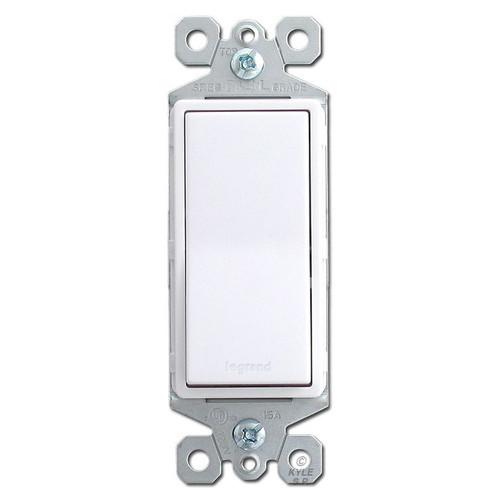 White 3 Way Rocker Switch