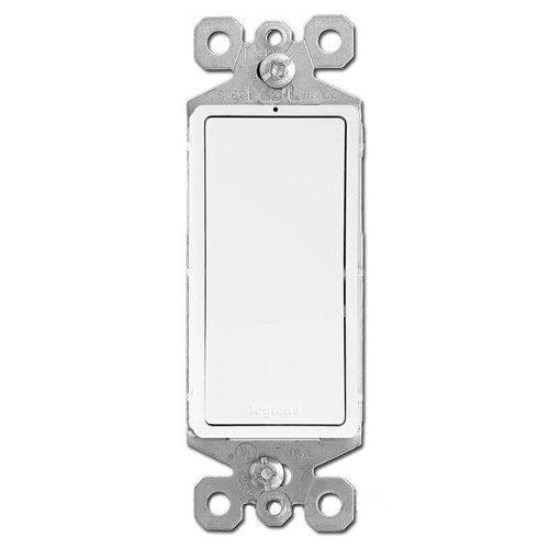 White 3 Way Lighted Rocker Switches