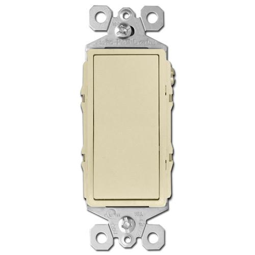 4-Way Ivory Rocker Light Switch