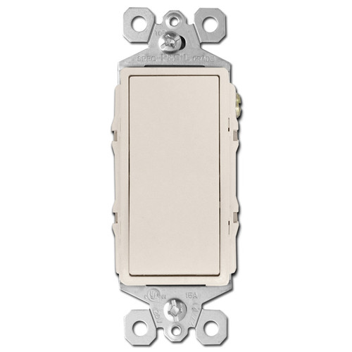 Light Almond 4 Way Rocker Switch