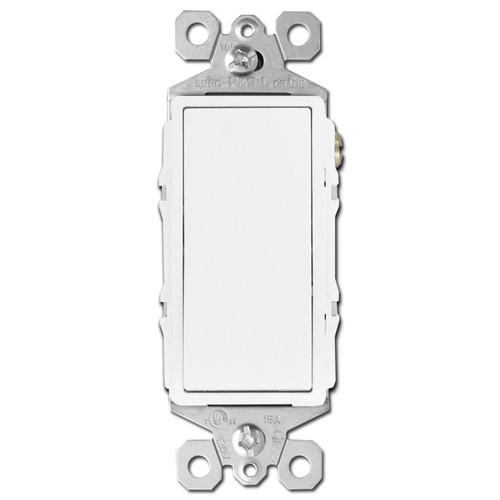 White 4 Way Rocker Switches