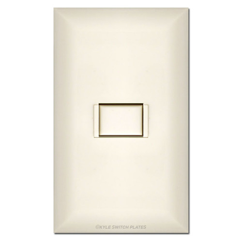Touch Plate 5000 Series Almond Low Voltage Switch
