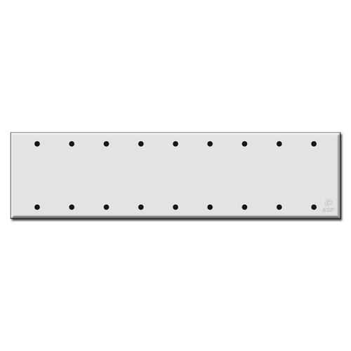 9 Blank Switch Wall Plate Covers