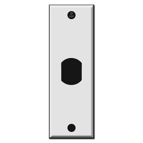 "1.5"" Single Narrow Vertical Despard Switch Plates"