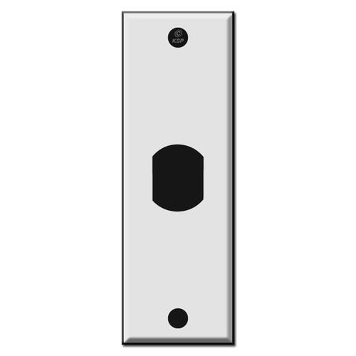 "1.5"" Single Narrow Vertical Despard Switch Plates"