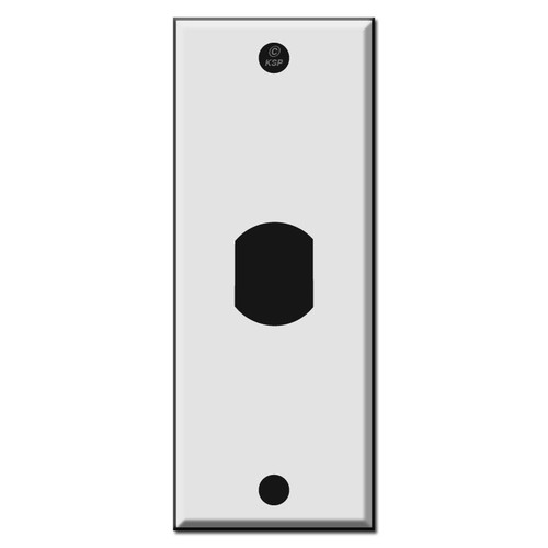 "1.75"" Single Narrow Vertical Despard Switch Plate Covers"