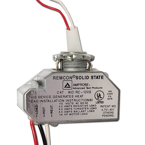 Remcon Low Voltage Closet Light Relay Switches RC-120S