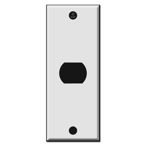 "1.75"" Narrow Switch Plates for One Despard Device"