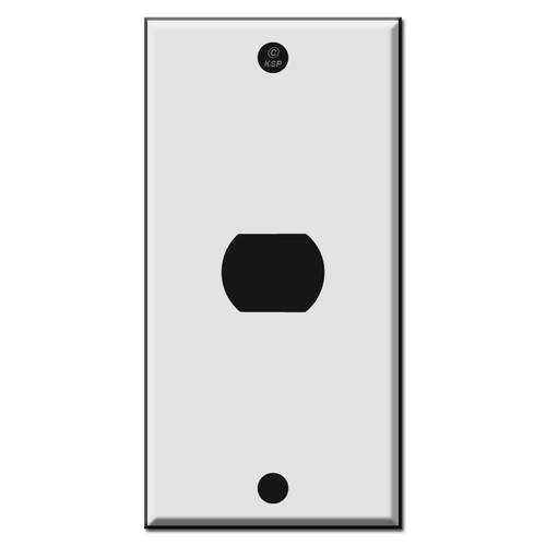 "2.25"" Narrow Despard Wall Switch Plates for Interchangeable Switches"