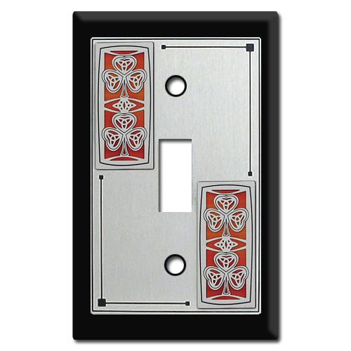 Irish Shamrock Switch Plate Covers