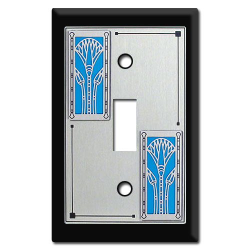 Lotus Switch Plate