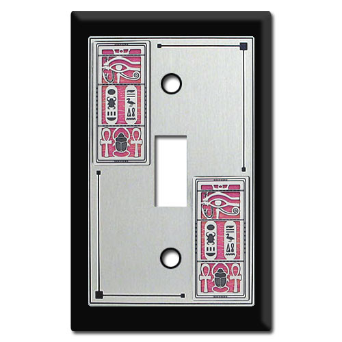 Egyptian Theme Switch Plate