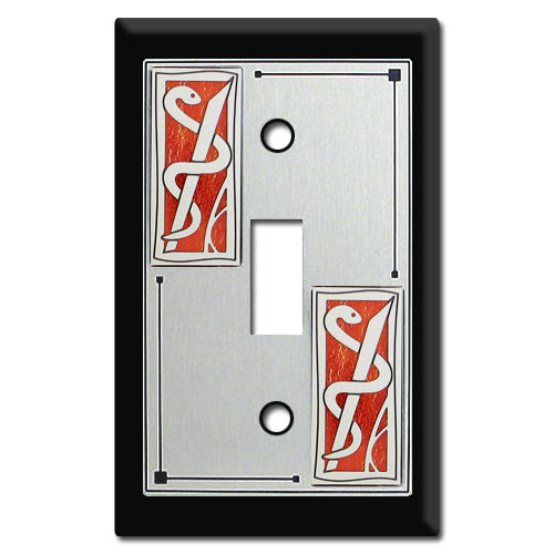 Medical Office Themed Switch Plate
