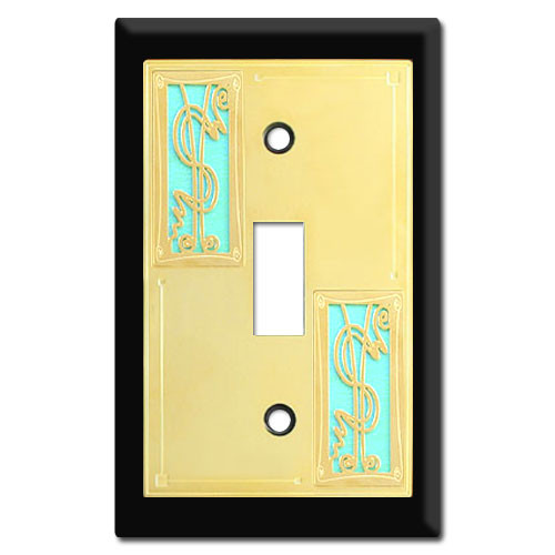 Money Themed Switch Plates