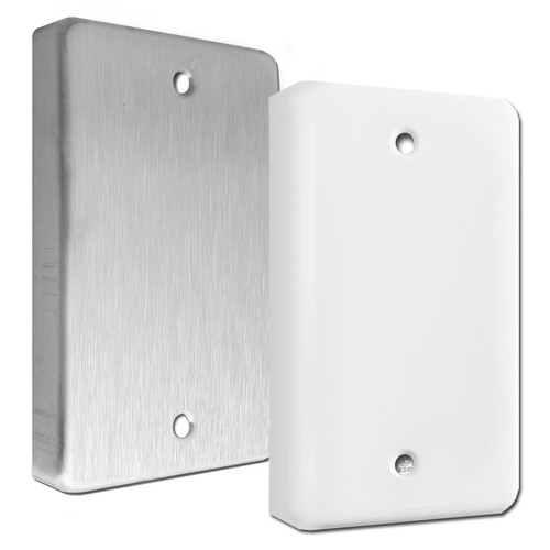 Extra Deep Single Blank Electrical Switch Plates