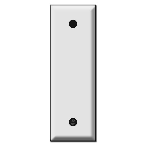 "Narrow 1.5"" Wide Blank Switch Plates"