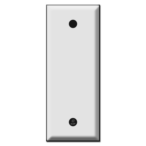 Narrow 1.75 Inches Wide Blank Switch Plates