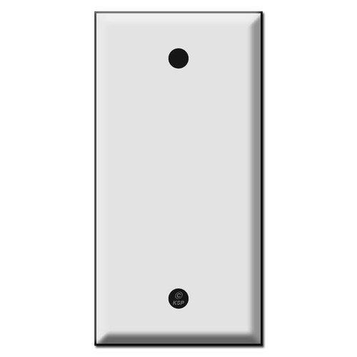 Narrow 2.25 Inch Wide Blank Wall Switch Plates