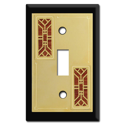 Arts & Crafts Decorative Switch Plates