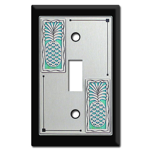 Fruit Decor - Switch Plates with Pineapples