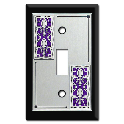 Decorative Fleur De Lis Switch Plate