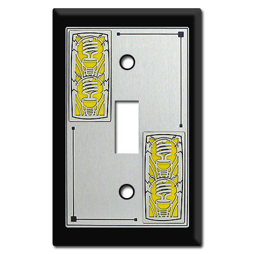 Decorative Switch Plates with Light Bulbs
