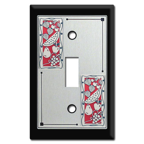 Decorative Fruit Themed Switch Plate