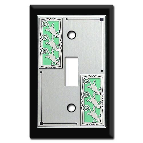 Gecko Lizard Switch Plate